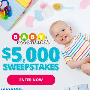 $5,000 Cash for Baby Essentials