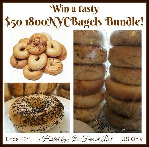 $50 1800NYCBagels Bundle Giveaway