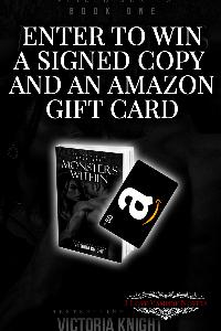 $50 Amazon Gift Card and Signed Paperback from Victoria Knight