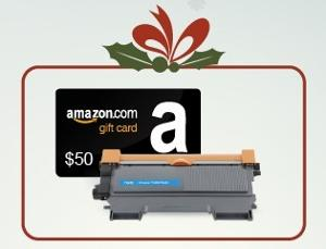 $50 Amazon Gift Card + INK E-SALE Toner Giveaway