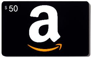 $50 Amazon Gift Card/PayPal Cash
