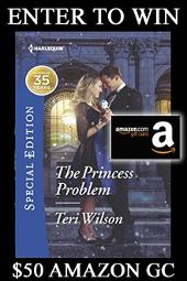 $50 Amazon Gift Card & Print Book from Teri Wilson
