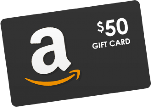 $50 Amazon Gift cards