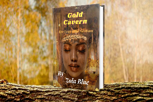 $50 Amazon giftcard , Audiobook of Gold Cavern , Signed Paperback of Gold Cavern – 1 winner each!
