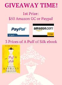 $50 Amazon / Paypal and ebook Giveaway!!