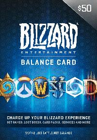 $50 Battle.net Gift Card