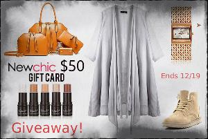 $50 Newchic Gift Card Giveaway