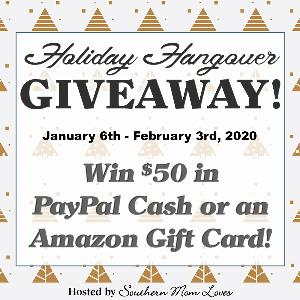 $50 Paypal Cash or Amazon Gift Card Giveaway