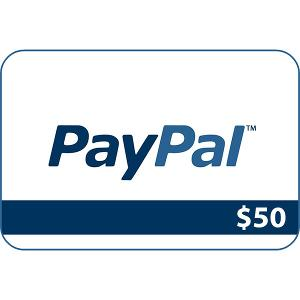 $50 Paypal Giveaway
