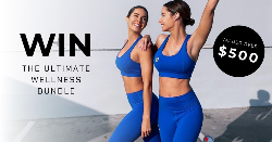 $500 ACTIVEWEAR AND MECCA VOUCHER
