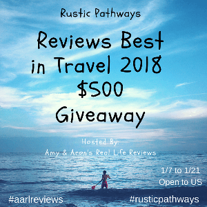 $500 AmEx Gift Card Rustic Pathways Giveaway