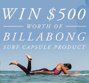 $500 Billabong voucher