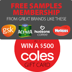 $500 Coles Gift card