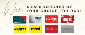 $500 GIFT VOUCHER OF YOUR CHOICE