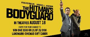 $500 Landmark Cinemas GC + Hitman's Bodyguard Prize Pack ($525)