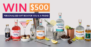 $500 PERSONALISED GIFT BOX FOR YOU AND A FRIEND