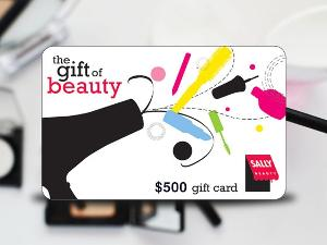 $500 SALLY BEAUTY GIFT CARD