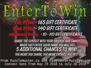 $65 Puzzle Master Gift Certificate Giveaway