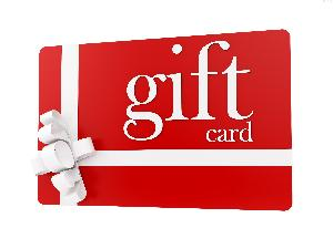 $70 Gift Card of your choice