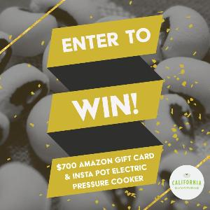 Contest: *** Win a $700 Amazon Gift Card + Instant Pot