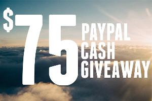 $75 or $25 PayPal Cash