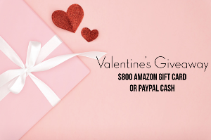 $800 Amazon Gift card or PayPal Cash