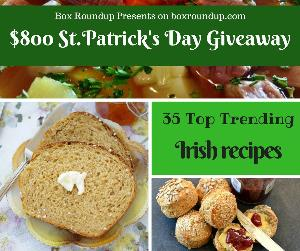 $800 St. Patrick's Day giveaway