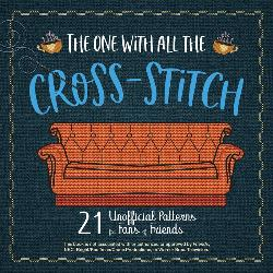 """""""Friends"""" Themed Cross-Stitch Book Giveaway"""