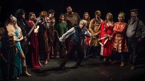 """Game of Thrones: The musical"" casting - a lot of actors dressed up in Game of Thrones fashion for this parody musical!"