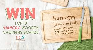 'Hangry' Wooden Chopping Board