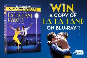 'La La Land' on Blu-ray ($25) -- 5 winners