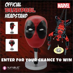 """Marvel DEADPOOL official headstand"
