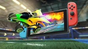 """New Nintendo Switch and Rocket League Collectors Edition"