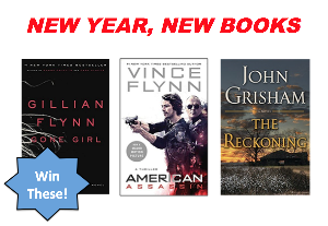 !!New Year, New Books Giveaway!!