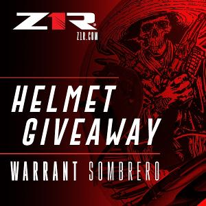 One Winner Will Receive: One (1) Z1R Warrant Sombrero helmet & A one-year subscription to INKED Magazine!!
