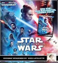 """Star Wars: The Rise of Skywalker"" Blu-Ray Giveaway"