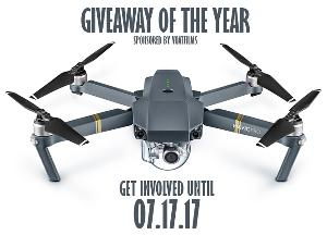 """The DJI Mavic Pro Giveaway of the Year"