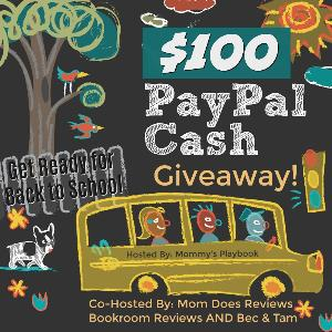 #Win $100 PayPal CASH for Back to School!