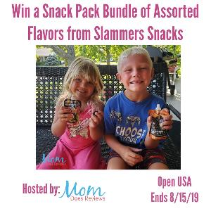 #Win a $100 Bundle of Assorted Flavors from Slammers Snacks