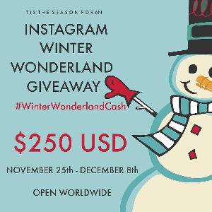 #WinterWonderlandCash Open Worldwide