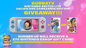 1 Grand Prize Winner wins a  Nintendo Switch Lite - Zacian and Zamazenta & Edition Pokemon Sword or Shield Game +1 Runner Up Winner wins $70 Nintendo eShop Gift Card!!