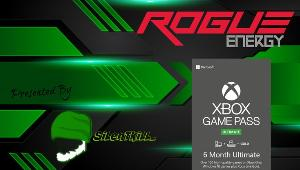 1 Lucky Winner will receive a code for 6-months of Xbox Game Pass Ultimate and a $25 Rogue Energy Giftcard!