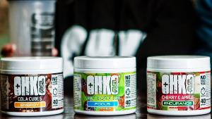 1 lucky winner will recieve a OHKO FUEL shaker and a tub of OHKO ENERGY (your choice of flavour)!