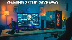 1 lucky winner will win Gaming Speakers & another will win a Gaming Headset!!