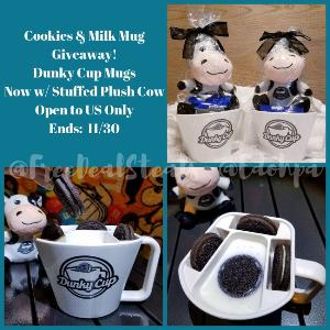 1 Winner gets 2 TWO Dunky Cup Mugs w/ Plush