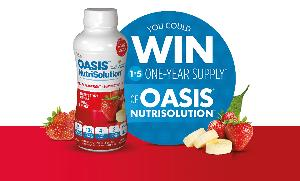 1 Year Supply of Oasis Nutrisolution Products (366 Bottles) -- 5 winners