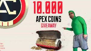 10.000 Apex Coins-1 winner, 1000 Apex Coins-3 winners & A gifted subscription-2 winners!!