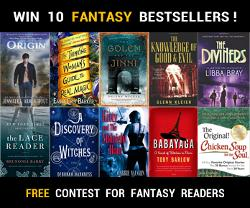 10 Fantasy Bestselling Books Giveaway
