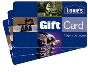1000 lowes gift card