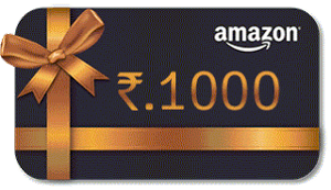 1000 RUPEES AMAZON GIFT CARD